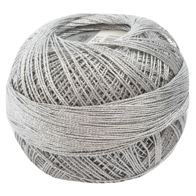 Lizbeth Thread LizMetallic 20 - (311) Silver