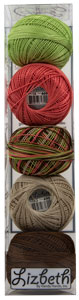 Lizbeth Specialty Pack - Summer's End Mix - Size 20