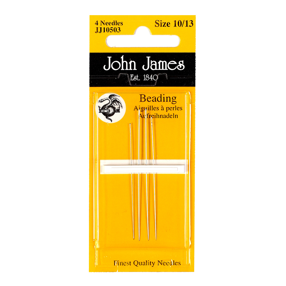 John James Beading Needles, Size 10