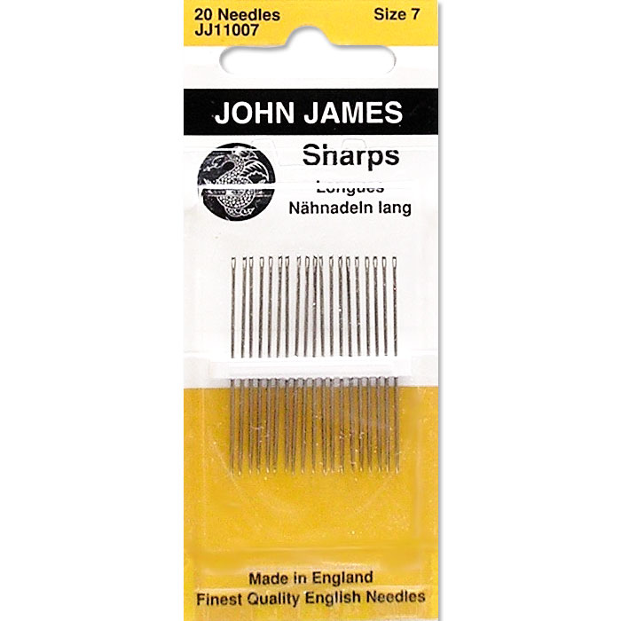 John James Sharps, Size 8