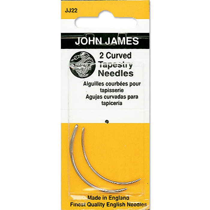 John James Tapestry Curved Needles, Size 18
