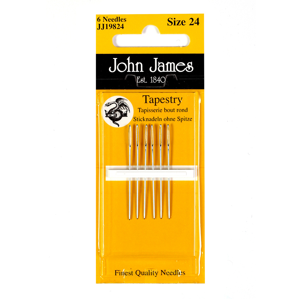 John James Tapestry Assortment, Sizes 18-22