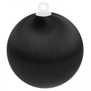 Black Satin Ball 2.5 in