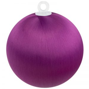 Fuchsia Satin Ball 3 inch