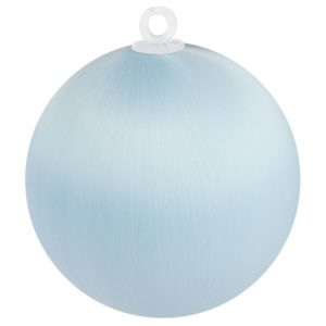 Light Blue Satin Ball 3 inch