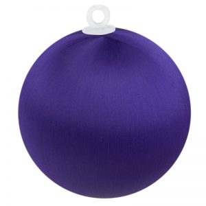 Purple Satin Ball 3 inch