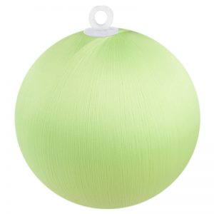 Spring Green Satin Ball 2.5 inch