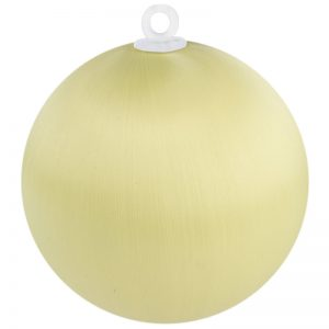 Vanilla Satin Ball 3 inch