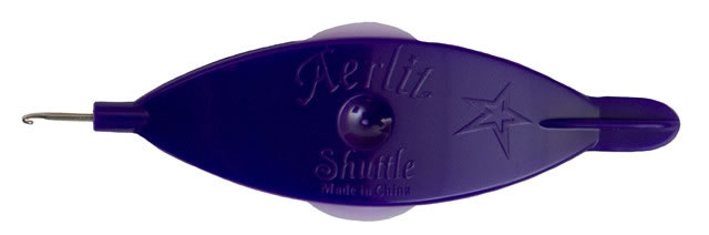 Aerlit Tatting Shuttle - Purple Lilac