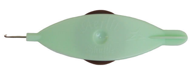 Aerlit Tatting Shuttle - Mint Chocolate
