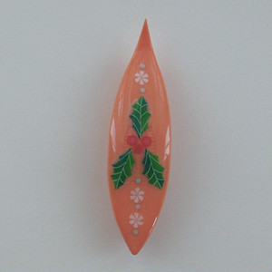 Japanese Tatting Shuttle - Holly