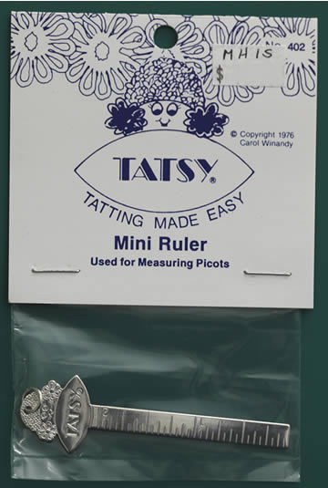 Tatsy Mini Ruler - Silver Tone