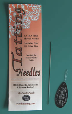 Tatting Needle #8-0 extra fine